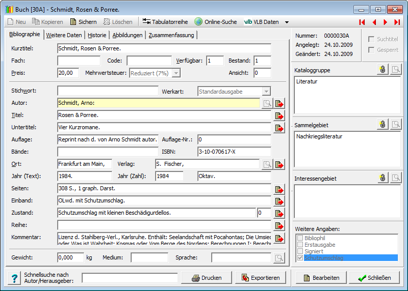 Hescom Software Sammlersoftware
